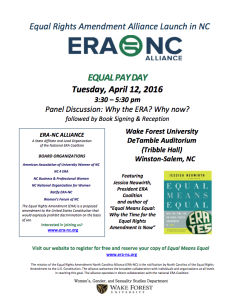ERA-NC Roll Out Flyer